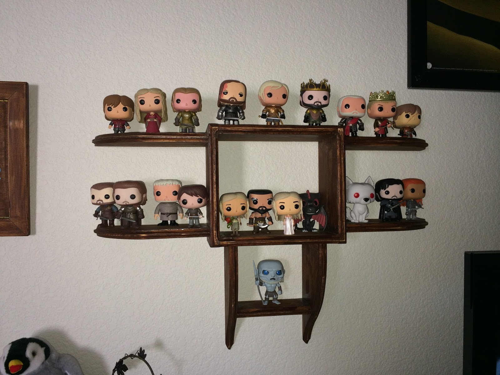 Timbo39s Creations Wall Display Shelf For Funko Pop Figures