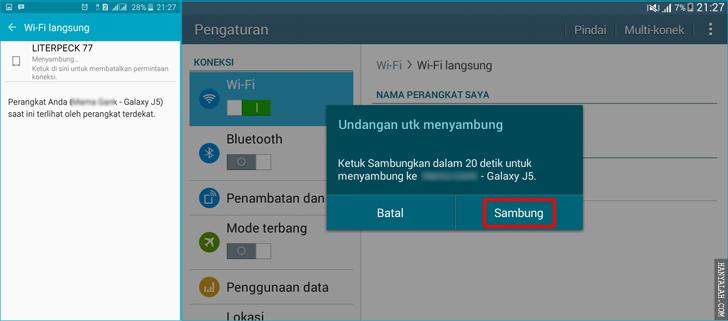 Begini Cara Kerja WiFi Direct