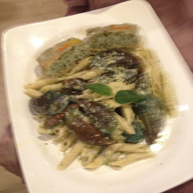 pesto pasta at Gayuma ni Maria Restaurant