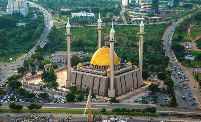 National Mosque in the capital Abuja