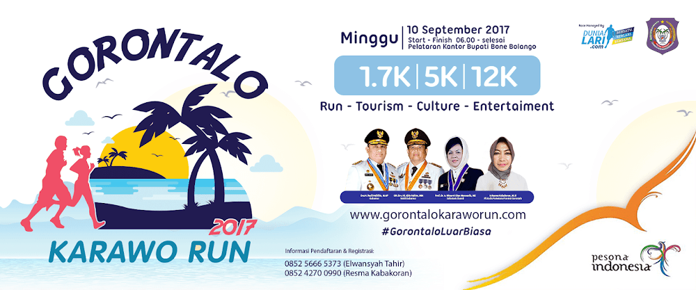 Gorontalo Karawo Run • 2017