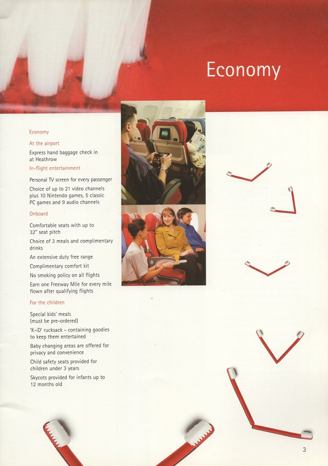 Airline memorabilia: Virgin Atlantic (1997)