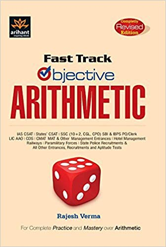 Fast Track arithmetic by Arihant Publication PDF Free Download