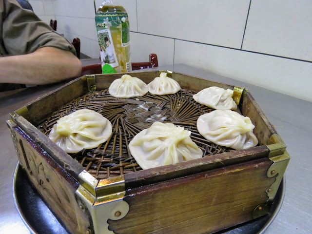 Soup dumplings in Xi'an China