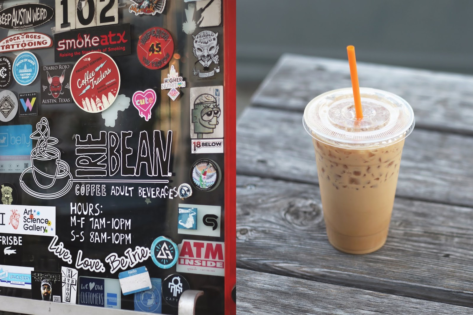 Irie Bean Austin, Iced Coffee, Cozy Coffee Shop, Coffee Shops Vibe
