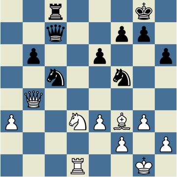 La première imprécision de Karpov 26...h6 - Photo © Chess & Strategy