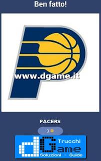 Soluzioni NBA Team Quiz livello 8