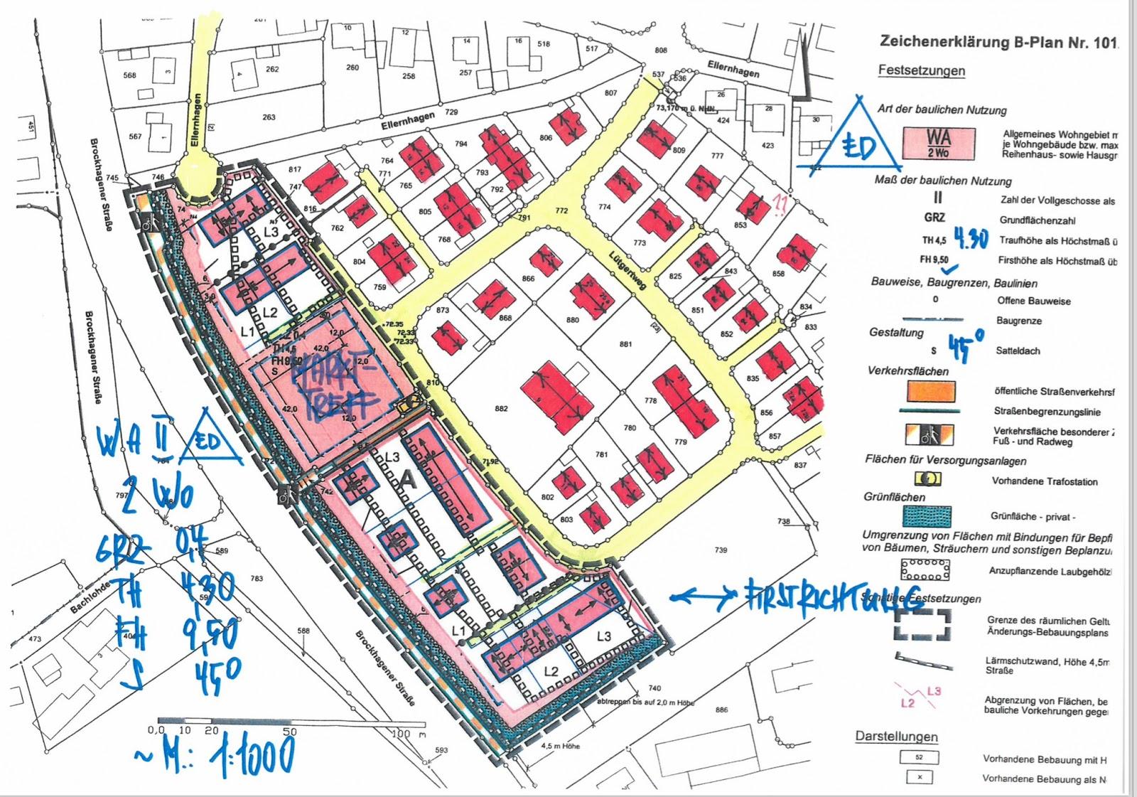 niehorst stellungnahmen zum neuen bebauungsplan der stadt g tersloh liegen zur unterschrift aus. Black Bedroom Furniture Sets. Home Design Ideas