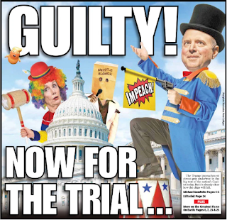 Cover Illustration from New York Post on 13 November 2019