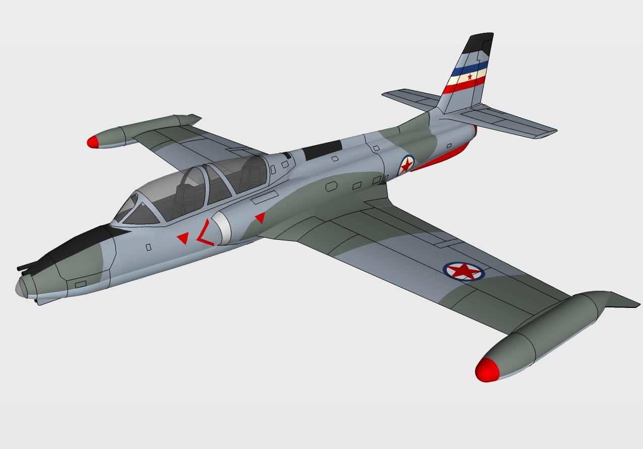 J 21 Soko J-21 Hawk ...