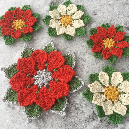 Poinsettia - Free Pattern