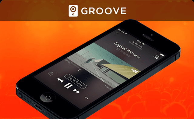 Groove Best New Apps to Listen to Music without Wi-Fi or Internet