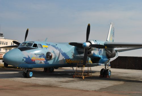 На «Завод 410 ЦА» для капітального ремонту прибув черговий літак Ан-26 Повітряних Сил ЗС України