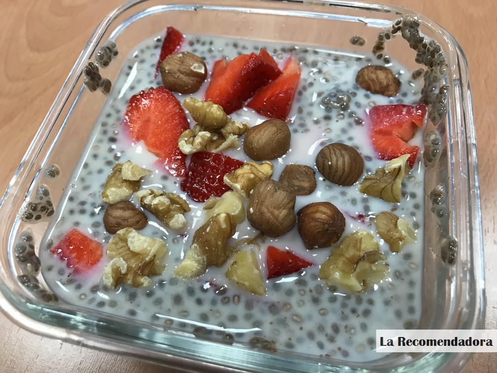 recetas con semillas de chia para bajar de peso