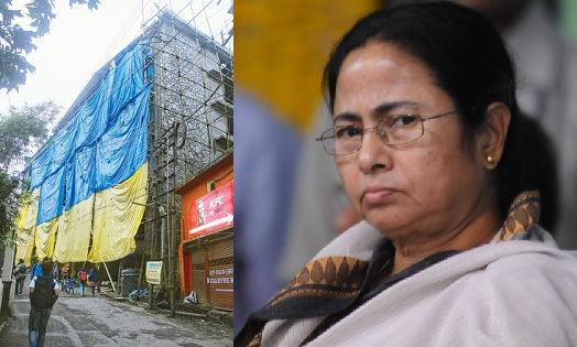 Mamata Banerjee's annoyance at the increasing number of high-rises in the hill town Darjeeling