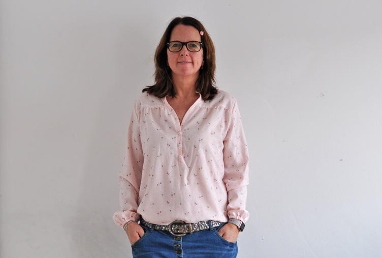 Tante Hilde: Die Bluse