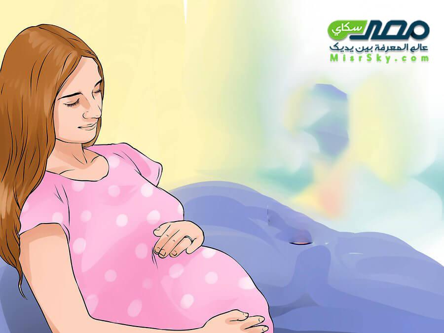 متى تبدأ حركة الجنين وكيف تشعر بها المرأة الحامل ؟