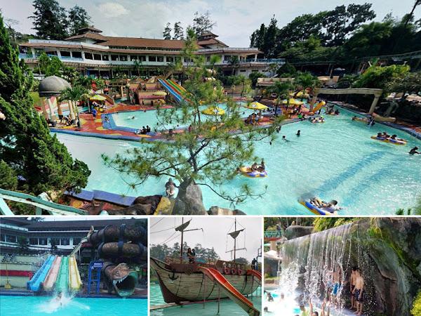 Kolam renang Karang Setra Waterland Bandung