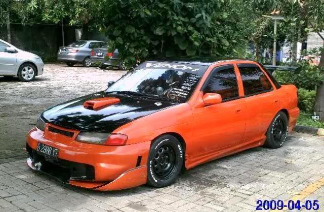 Modifikasi Mobil Timor Racing
