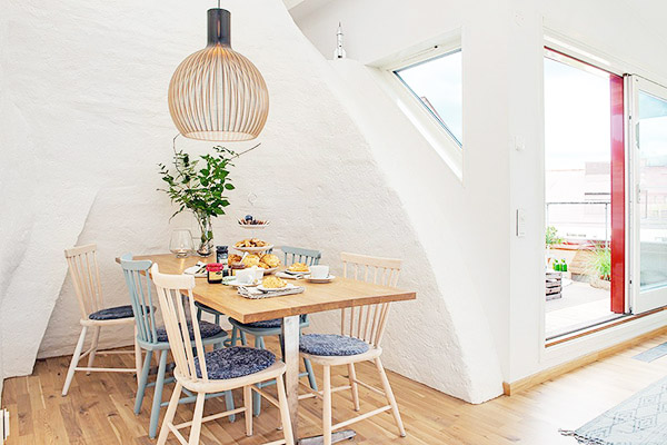 Loft su dois la d coration scandinave blog d co for Salle a manger style scandinave