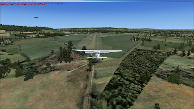 Finals at RAF Halton on FSX