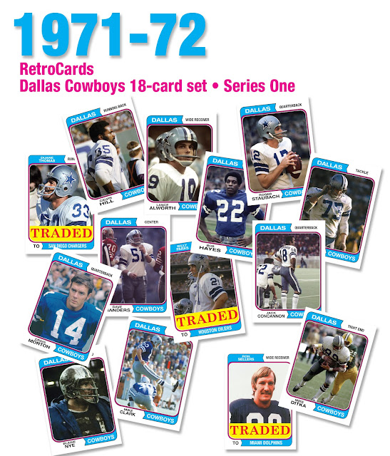 Roger Staubach, Craig Morton, Duane Thomas, Calvin Hill, Lance Alworth, Bob Hayes, Mike Ditka, Ralph Neely, John Niland, Blaine Nye, Dan Reeves, Rayfield Wright, Walt Garrison, Dave Manders,  Mike Clarke, Ron Sellers, Billy Parks, Jack Concannon