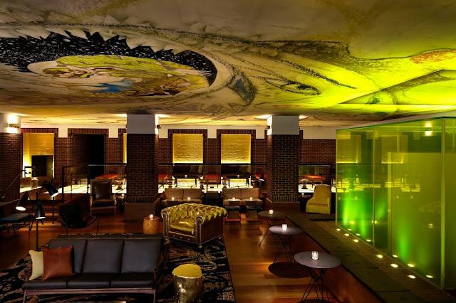 Hudson Bar em Nova York