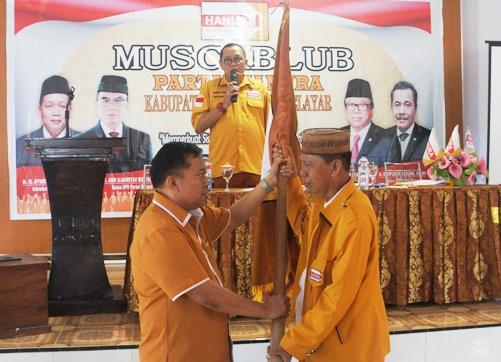 Muh. Basri, Ketua Baru DPC Partai Hanura Selayar