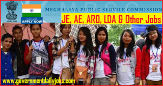 Meghalaya PSC Recruitment 2018 Apply for 228 AE & Lecturer Posts