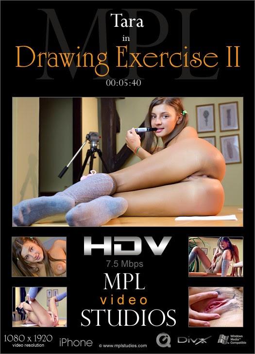 MPLStudios2-06 Tara - Drawing Exercise 2 (HD Video) 08160