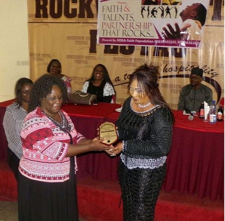 Actress Turned Evangelist, Eucharia Anunobi Bags 1st Award in Ministerial Duty (Photos)