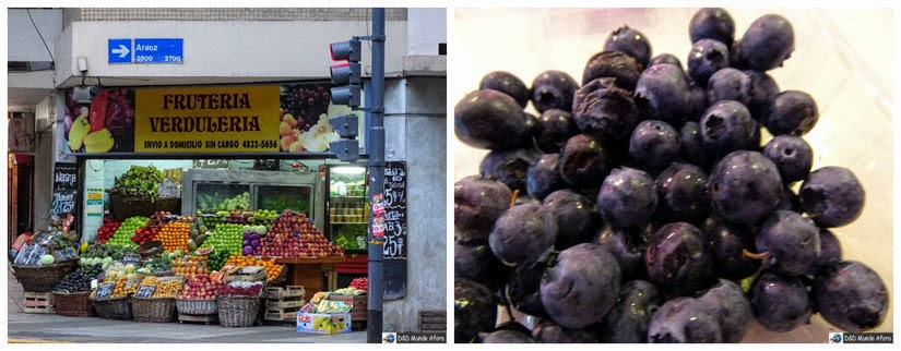 Blueberries frutas Buenos Aires