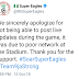 Super Eagles blames poor network as reason for being unable to post live against Libya