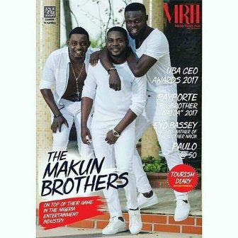 comedian Ay and his brothers lanre and yomi