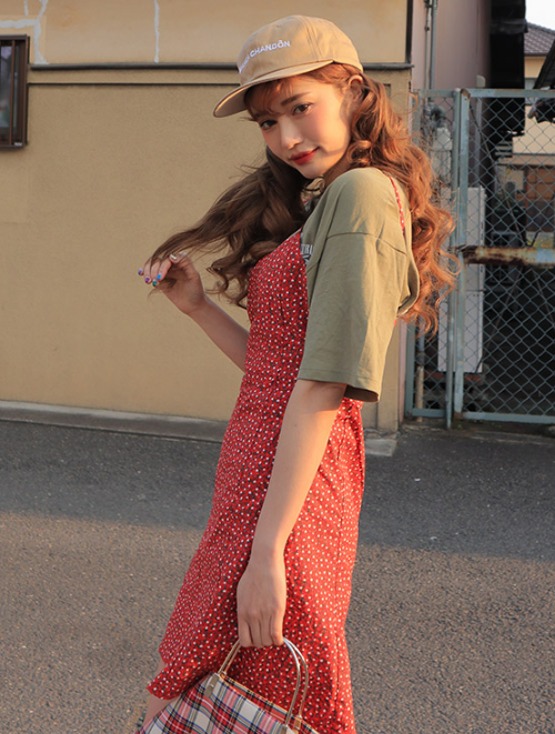 Floral A-Line Cami Dress