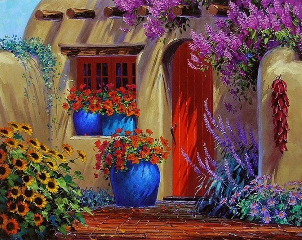 Im genes arte pinturas pinturas paisajes colores - Colores llamativos ...