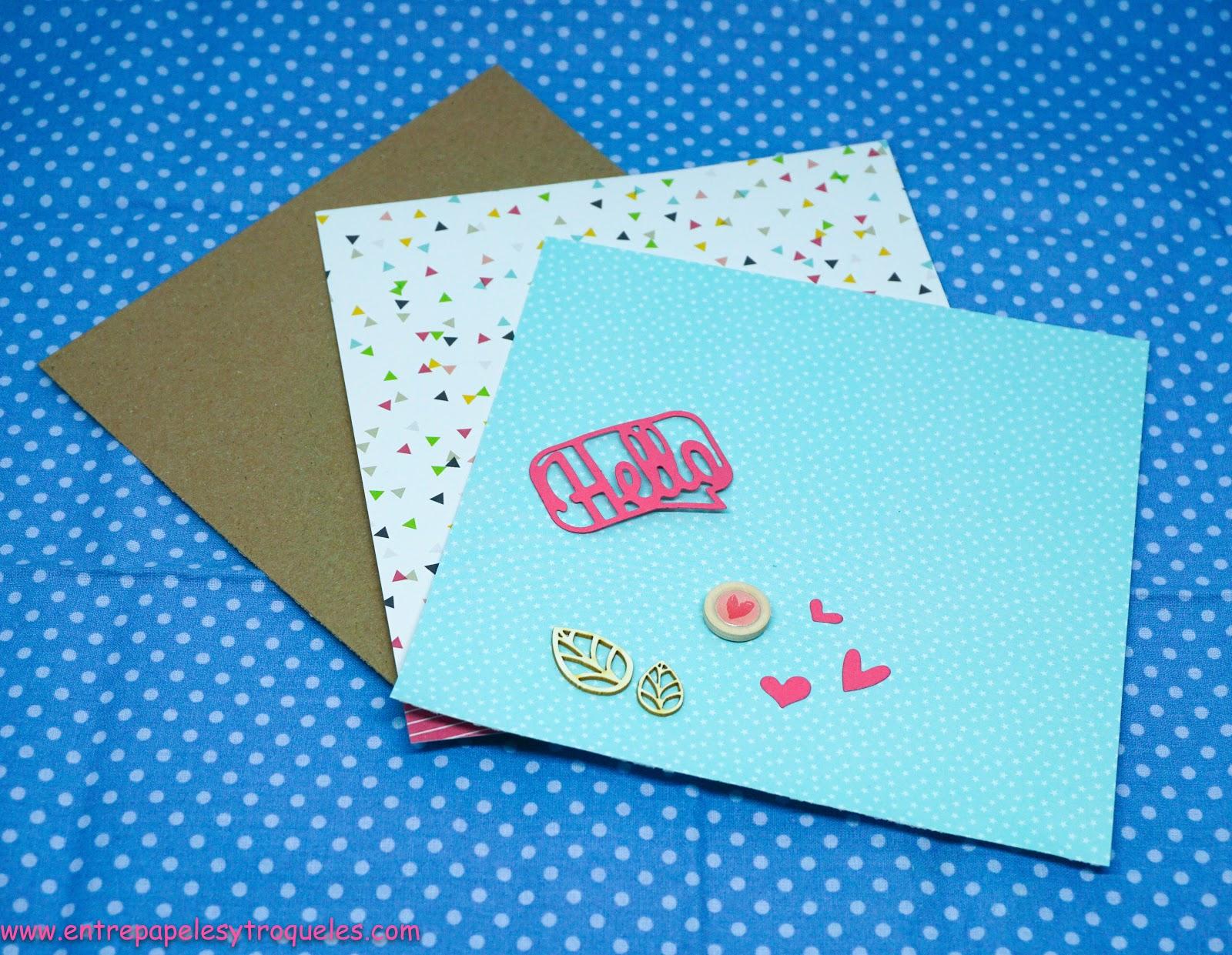 Actividades creativas American Crafts Papel cumpleaños Deseos Cita y Tarjetas de cartulina 2