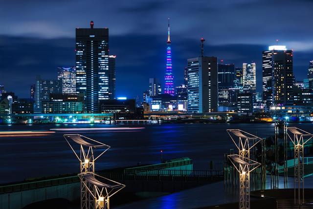 東京タワー「MINTIA 20th SPECIAL Light Up」
