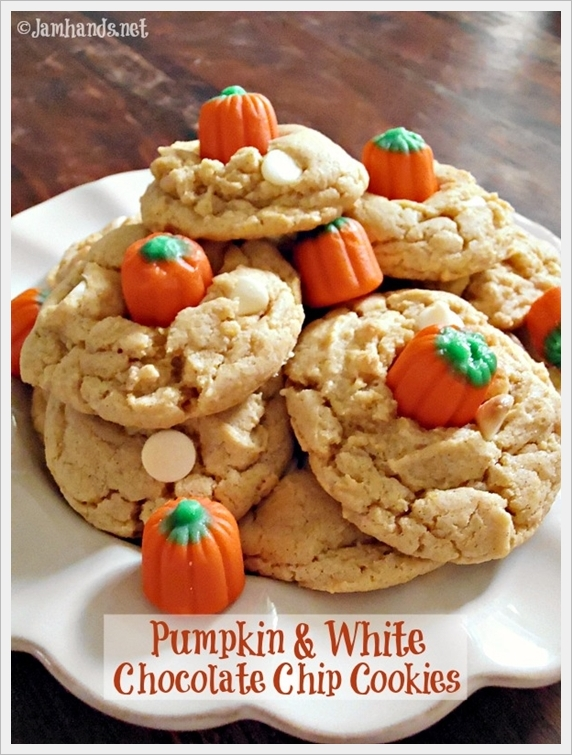 Pumpkin Amp White Chocolate Chip Cookies