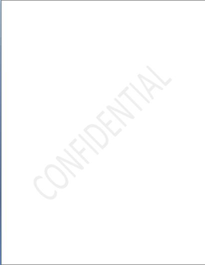 Confidential watermark