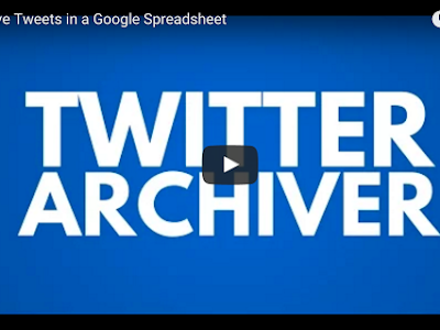 Two Handy Twitter Tools to Use in Your Google Drive