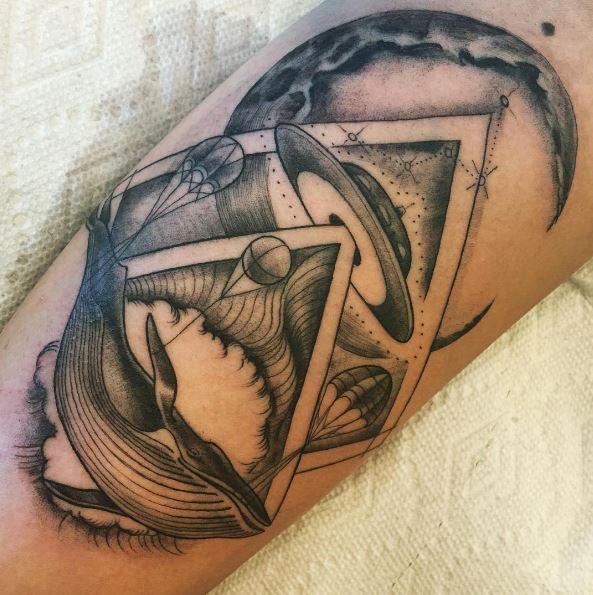 Pin By Mytorius On Believe Tattoo Men: 50+ Alien UFO Tattoos For Men (2019)
