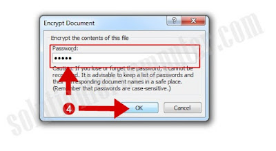 How to set password on MS OFFICE files