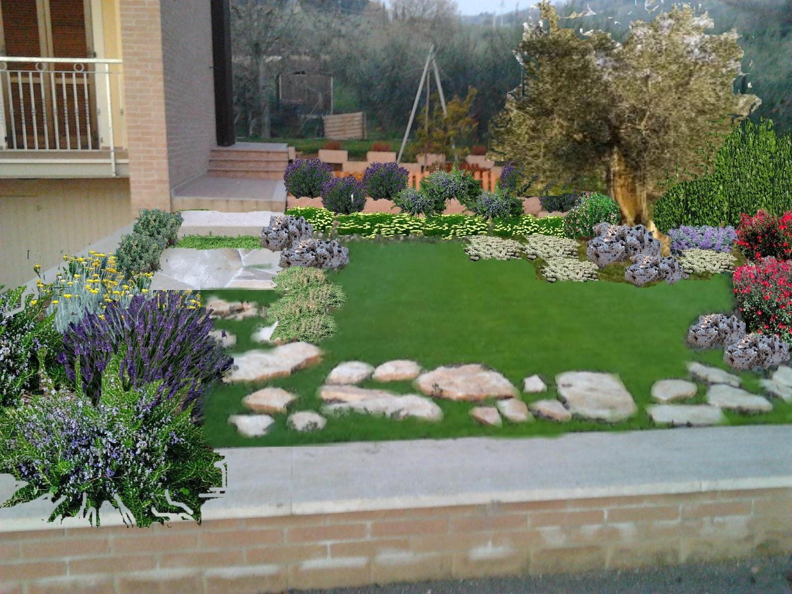 Progetto piccoli giardini aiuole for Giardini e aiuole