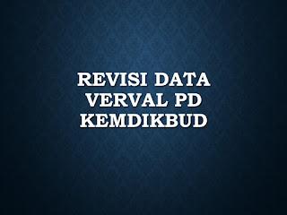Tutorial Memperbaiki Data Peserta Didik di Verval PD