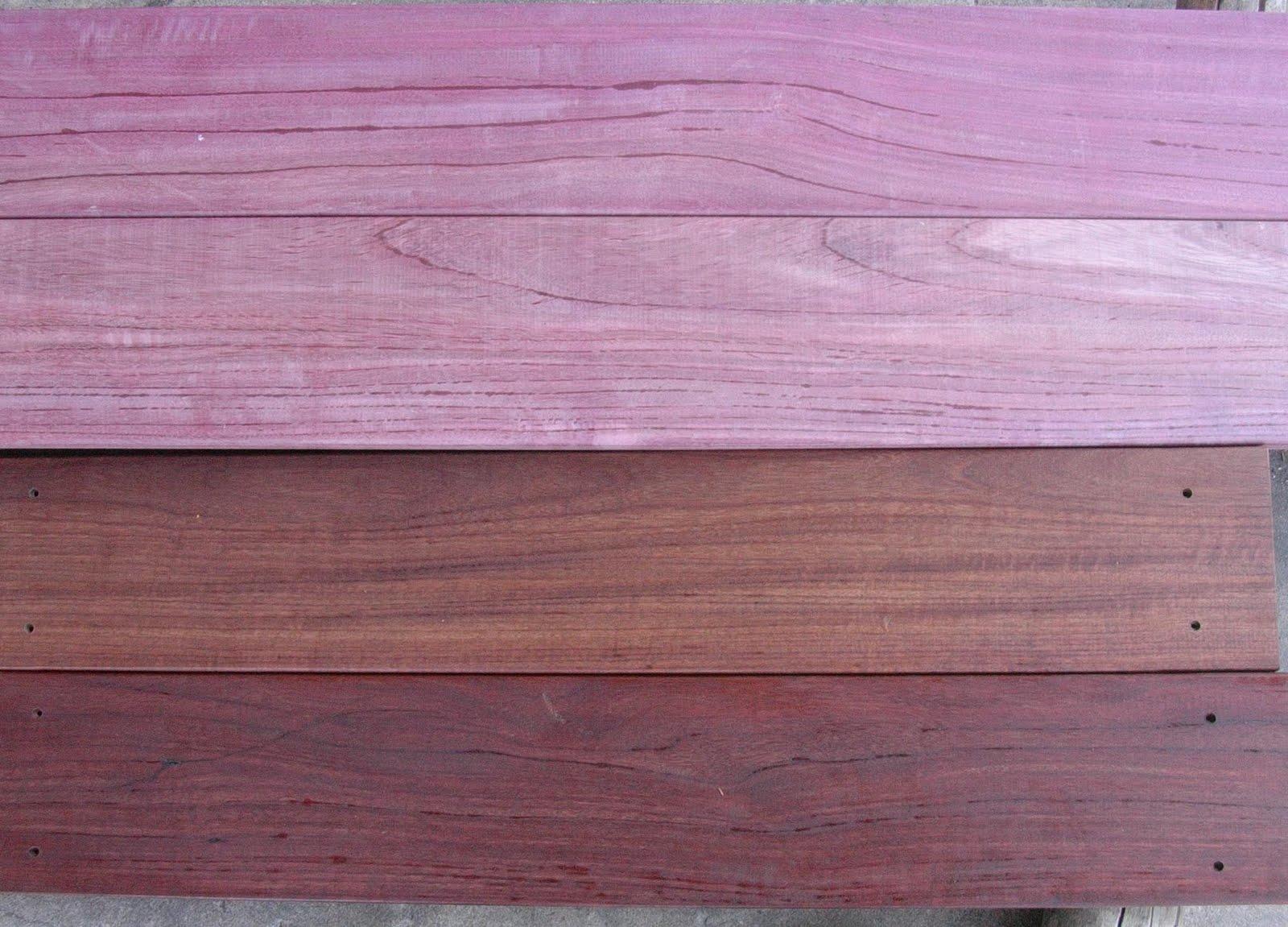 Brazilian Hardwood Decking Purple Heart Hardwood Decking