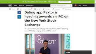 Public company online dating