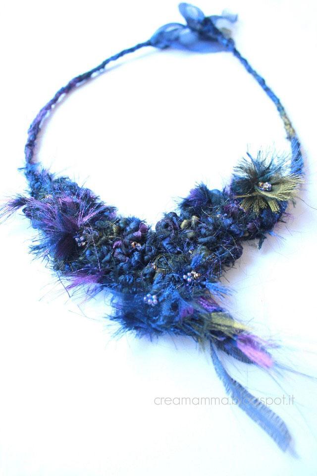 trasformare un vecchio foulard in una nuova collana
