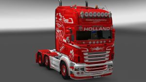 Aaldenberg skin for Scania RJL