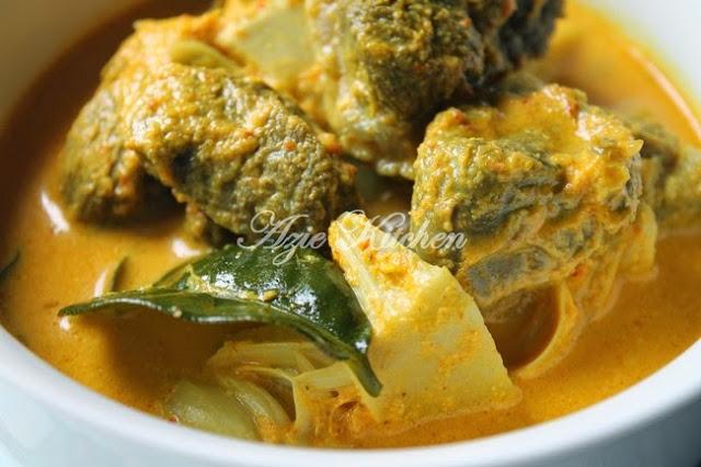 Gulai Daging Tetel Dan Nangka Padang